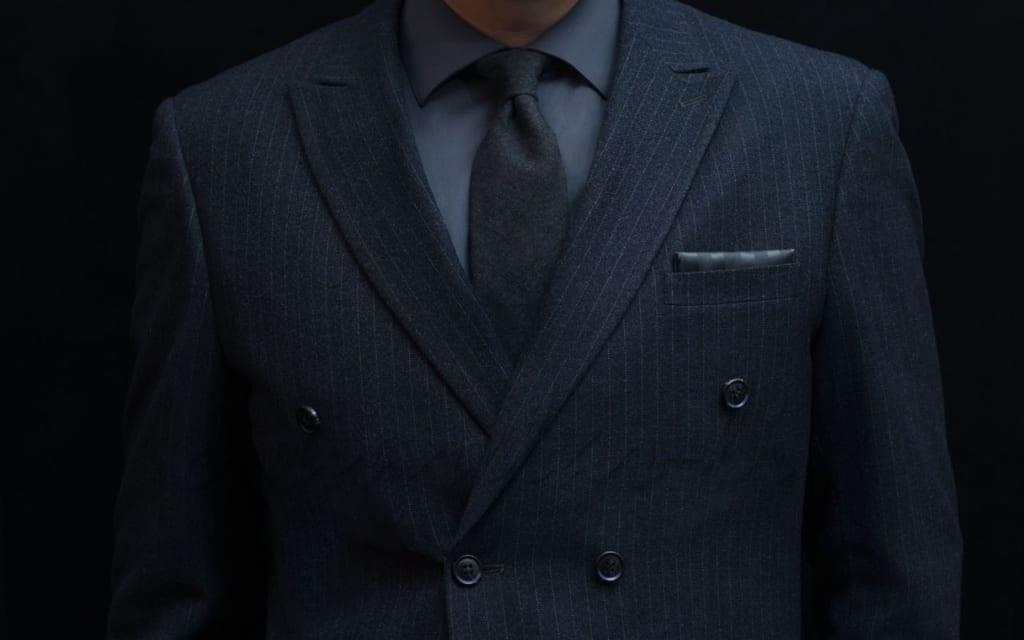 スーツでデキる男アピール